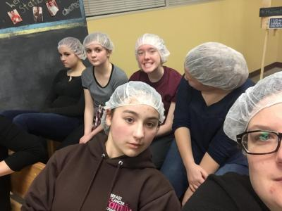 Feed My Starving Children Waiting.JPG